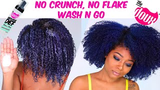 SHOOK! Wash 'n Go with Mousse, NO GEL | Best Volume & Definition for Type 4 Hair?! | The Doux Foam