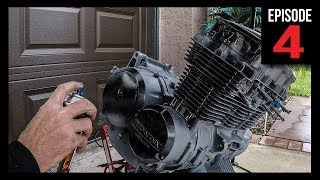 Engine Prep & Paint - Bobber Build - Episode 4