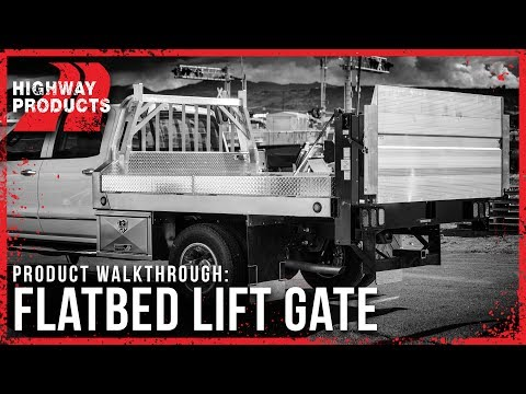 Highway Products | Flatbed Lift Gate
