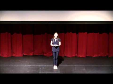 Living with One Foot in the Air | Zoe Fanning | TEDxYouth@JHS