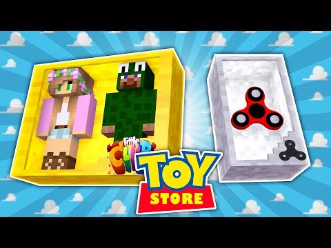 Minecraft TOYS - LITTLE LIZARD IS THE NEW TOY FIDGET SPINNER   Little Kelly and Little Carly