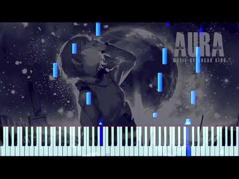 Sad Piano Music - Aura   Synthesia Tutorial