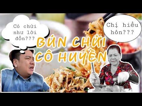 BÚN CHỬI CÔ HUYỀN có chửi như lời đồn??????   Review ăn uống Sài Gòn   cuoc song sai gon