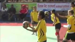 GYANUBABA VS FISHTAIL ACADEMY.Ladies VolleyBall...wmv