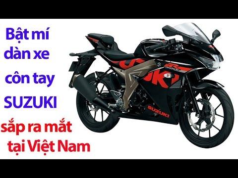 Bật mí dàn xe côn tay Suzuki sắp ra mắt tại Việt Nam