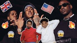 AMERICANS REACTS TO UK RAP/HIP-HOP - SKEPTA, CHIP & YOUNG ADZ - WAZE (THE MOVIE),,,,,