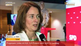 Katarina Barley zum Ergebnis der Landtagswahl in Niedersachsen am 15.10.17
