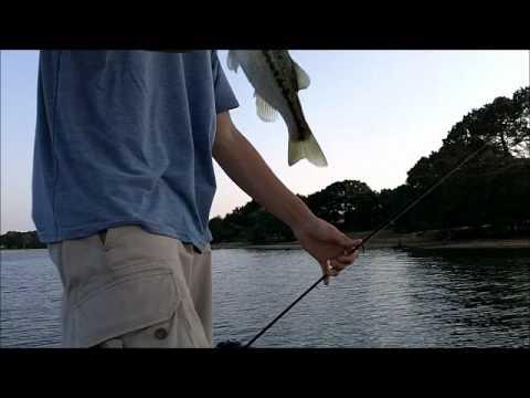 Bass fishing lake palestine pt 2 youtube for Lake palestine fishing