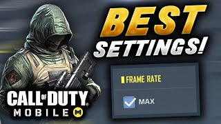 COD Mobile BEST settings for NO LAG and better aim!! | Call of Duty Mobile Tips and Tricks