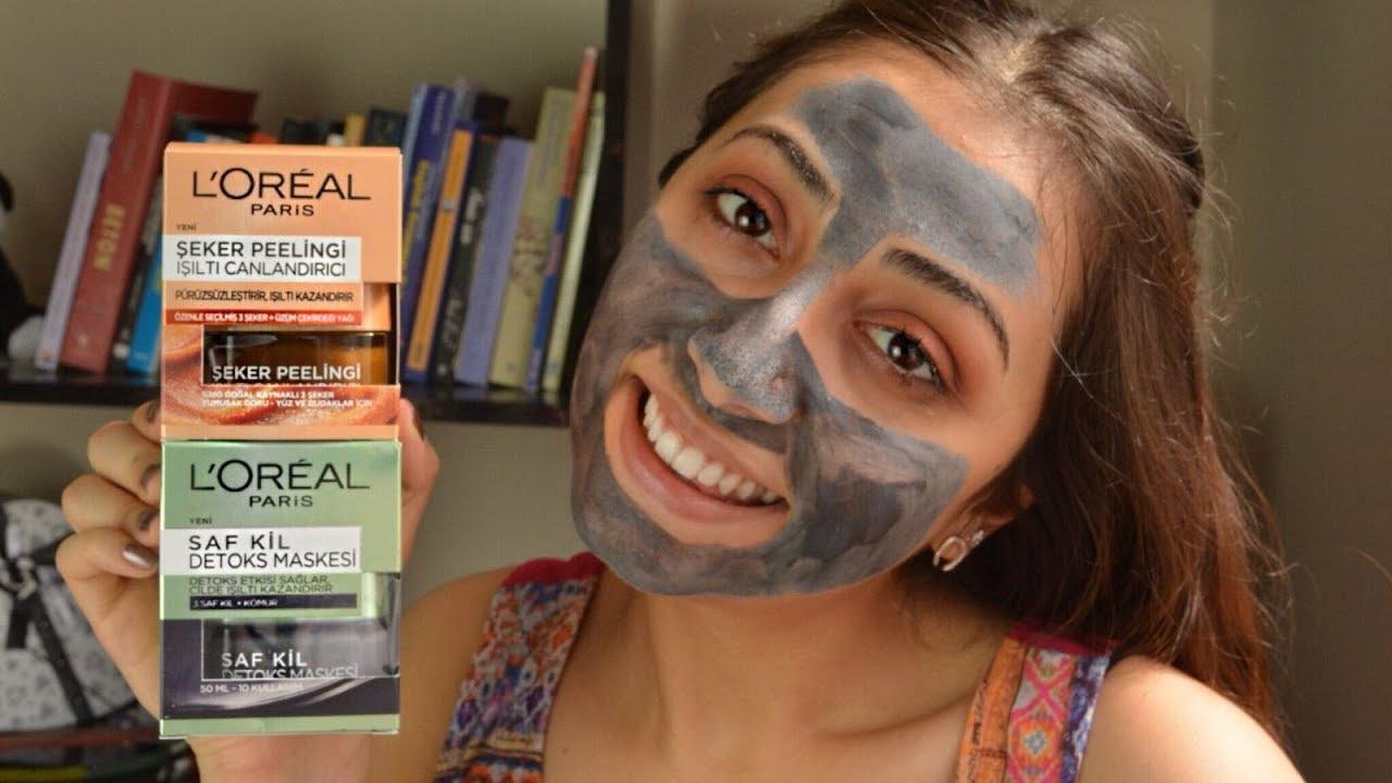 Loreal Saf Kil Detoks Maskesi | 1 Ürün 5 Dakika