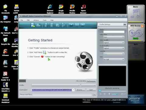 The best Video,image & sound converter Xilisoft Video Converter With serial code
