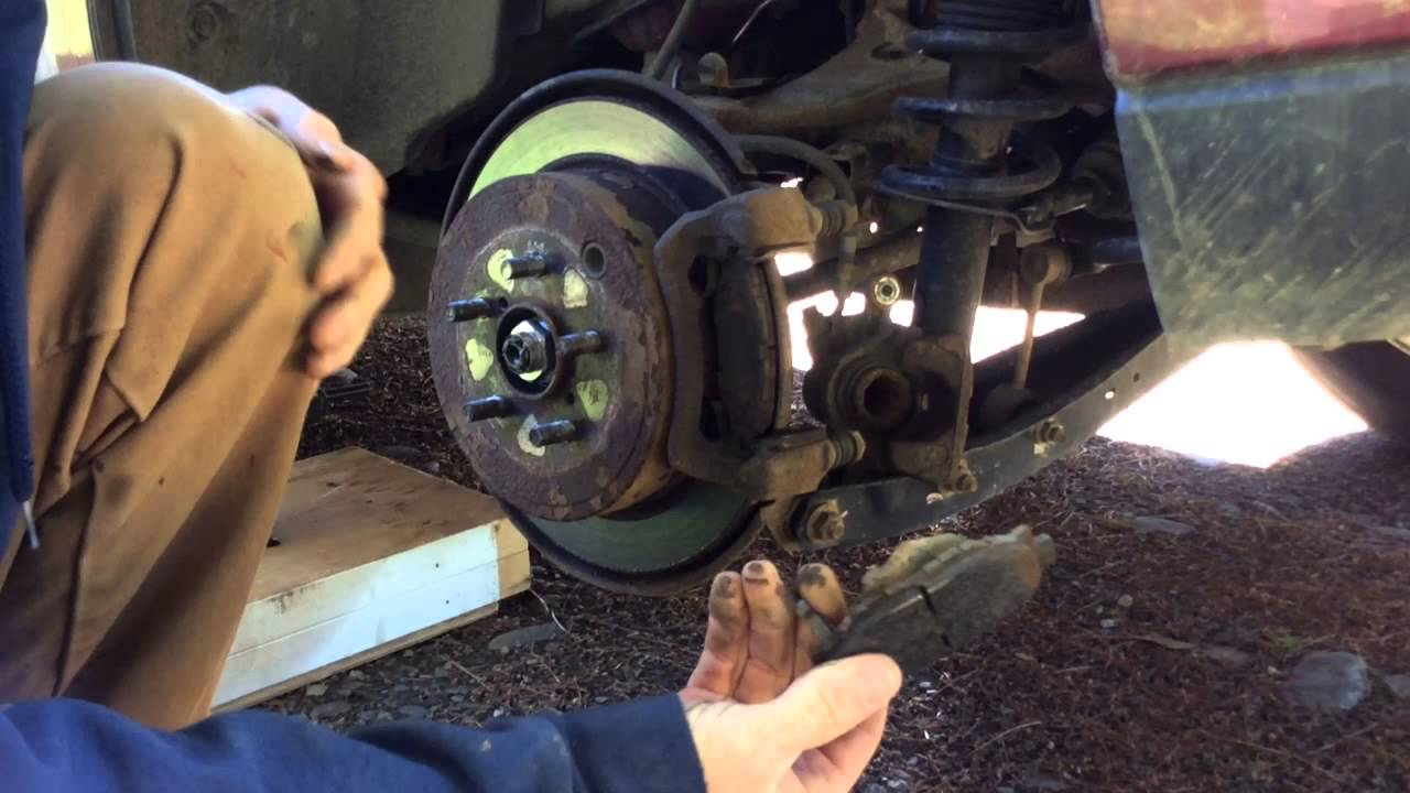 DIY Rear Brake Pads Subaru Forester  YouTube