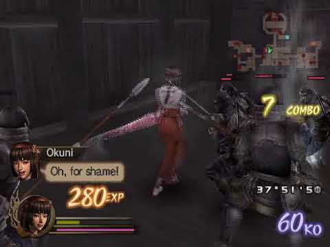Let's Play Samurai Warriors #65-Dance at Azuchi Castle (Okuni)