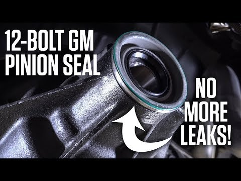 The ONLY WAY to fix a leaking 12-bolt GM rear diff pinion seal | Hagerty DIY