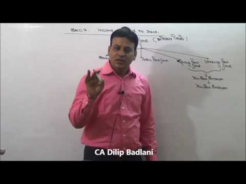 Income Tax : AY 17-18 : Introduction : Lecture 3