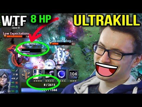 MIRACLE has 0.3% HP but he get ULTRAKILL LIKE A BOSS Dota 2 7.11