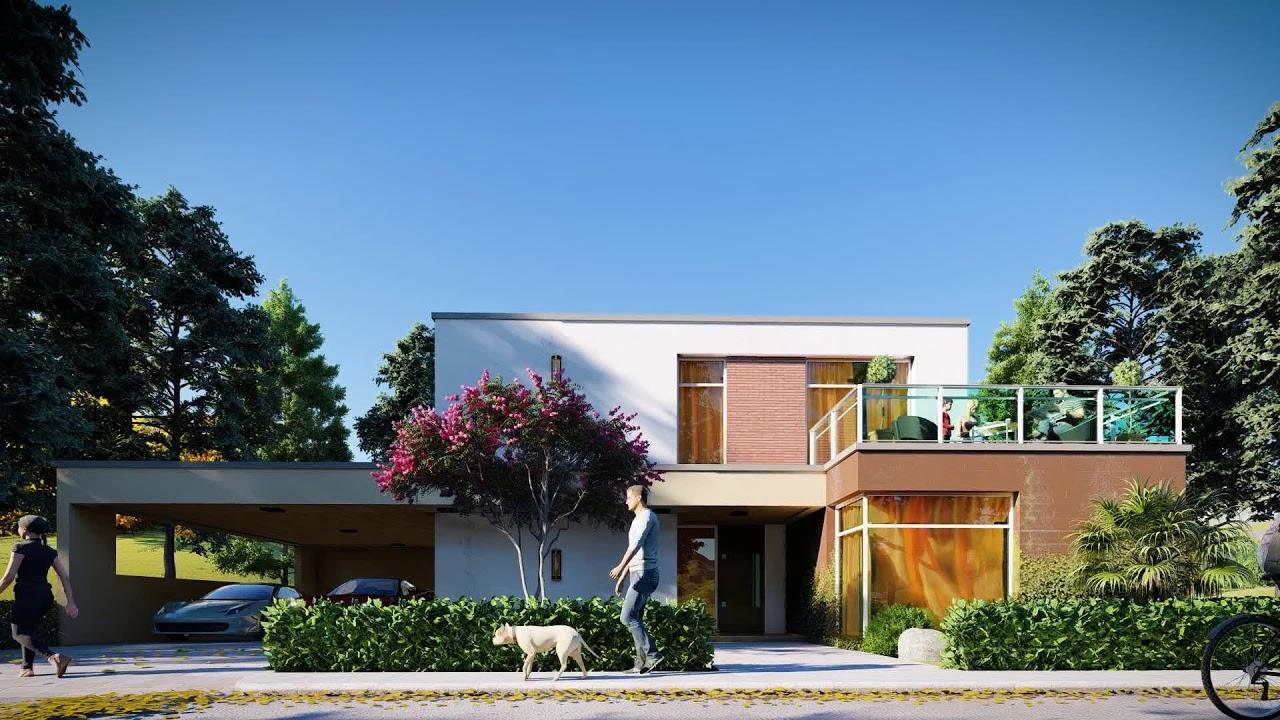Lumion 8 modern house