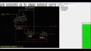 Simulación de Procesos metalúrgicos en estado estacionario y dinámico.