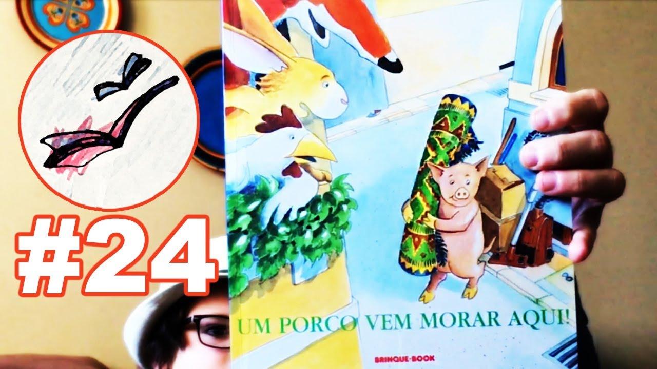 UM PORCO VEM MORAR AQUI | Leitura Compartilhada #24 - YouTube