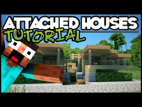 Minecraft Tutorial HD: Attached Village Houses