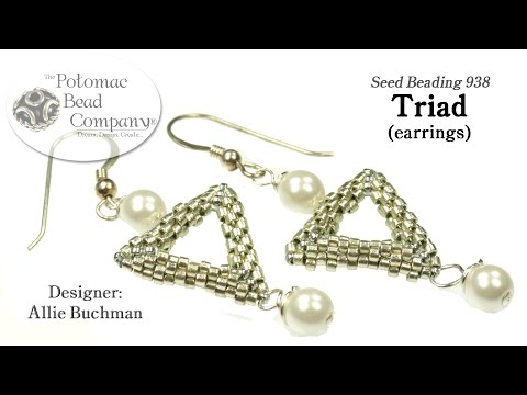 Triad Earrings (Tutorial)