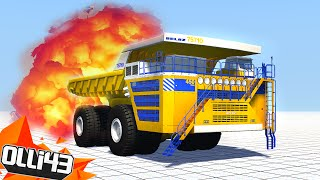 DUMP TRUCK DESTRUCTION?! (BeamNG Drive Crashes!)