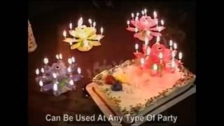 Vidéo : Bougie musicale fleur - Boutique-Originale.com by C'est mieux qu'un poisson rouge ®