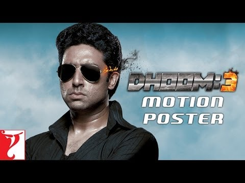 Dhoom:3 | Motion Poster | Aamir Khan | Abhishek Bachchan | Katrina Kaif | Uday Chopra