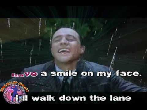Frank Sinatra - Singing in the rain (karaoke - fair use)