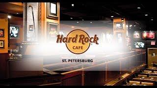 VLOG 41. Обзор легендарного бара Hard Rock Cafe St.Petersburg. Магазин, реликвии рок-музыкантов