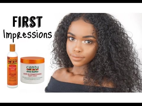 WASH AND GO | CANTU SHEA BUTTER FIRST IMPRESSIONS