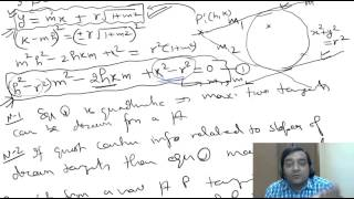 #12- Circle  IIT JEE Maths Online Free video Lectures