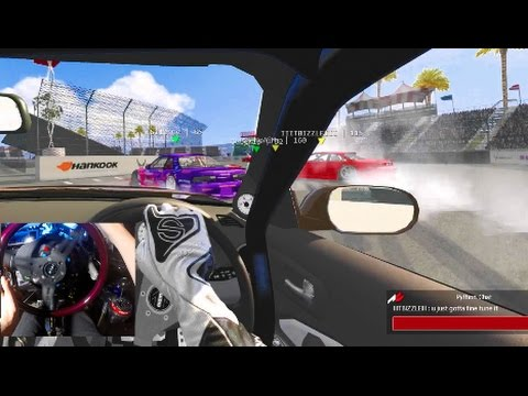 Assetto Corsa GoPro PC Online Drifting - S15 Long Beach