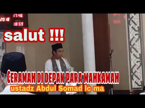 Heboh !!! Ceramah ustadz Abdul Somad Di Depan Hakim Mahkamah Agung