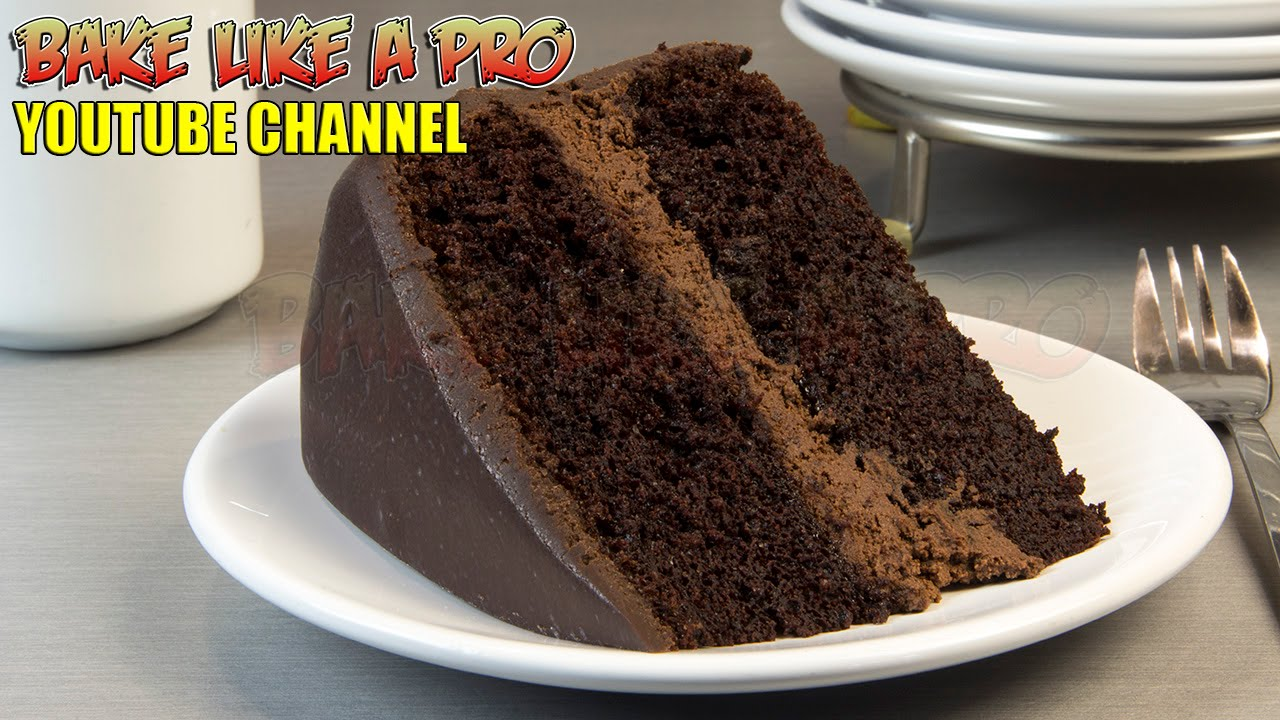 Cake Recipes In Otg Youtube: Black Magic Chocolate Cake Recipe !