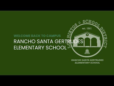 Reopening Rancho Santa Gertrudes Elementary School