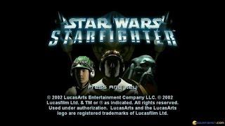 Star Wars Starfighter gameplay (PC Game, 2001)