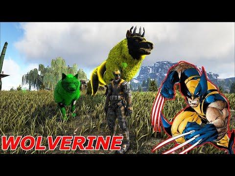 Ark Coop Map Crystal #15: Wolverine Thủ lĩnh binh đoàn Sói Thần