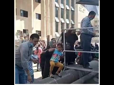 إخلاء مبنى محكمة شمال الجيزة بعد الاشتباه بالعثور على قنبلة
