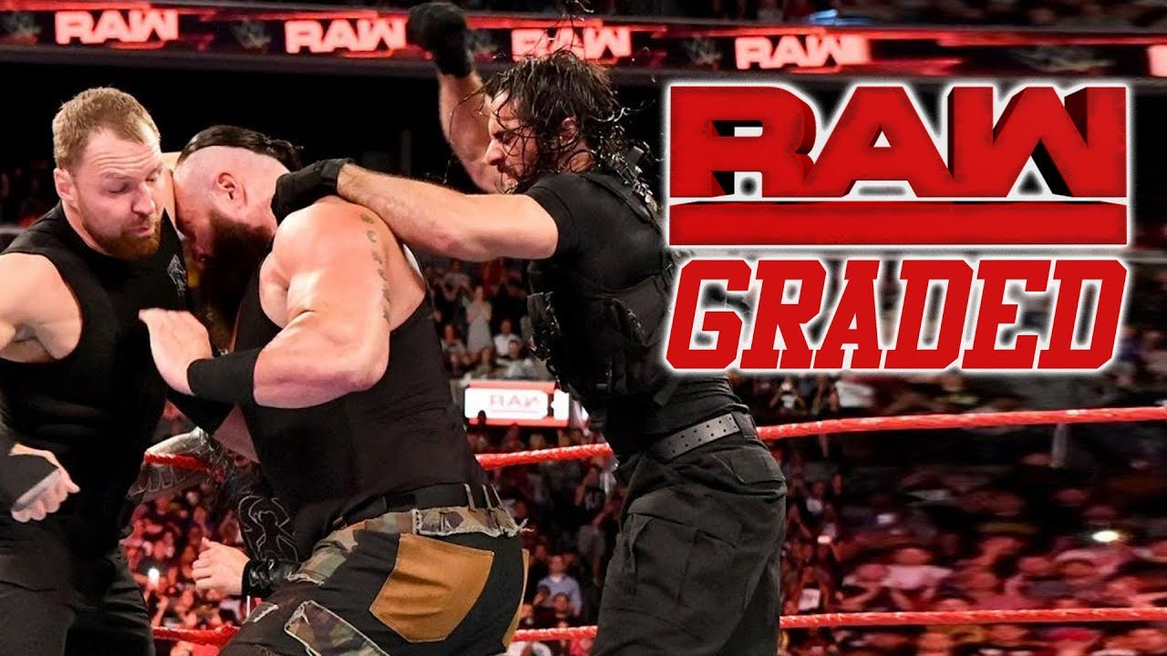WWE Monday Night RAW Results - The Shield Beat Down, Trish Stratus Returns, Baron Corbin As GM, More