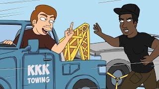 Racist Towing Prank - Ownage Pranks