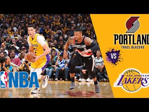 Nba Live Stream Los Angeles Lakers Vs Portland Trail Blazers Live Reaction Play By Play Youtube