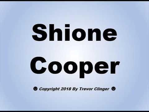 Shione cooper pics