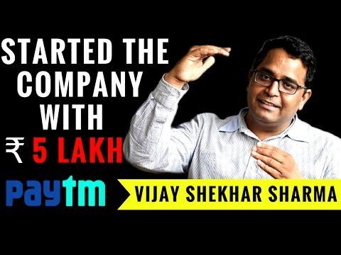 PayTM founder Vijay Shekhar Sharma Success Story || Indian Startups