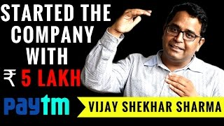 PayTM founder Vijay Shekhar Sharma Success Story || Indian Startups