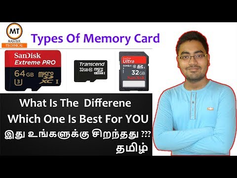 Types of Memory card 💾 | Which one you should buy ???🤔  | Tamil Tech- Master Technical 😊