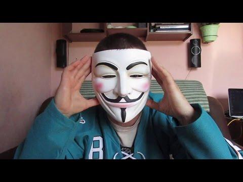 Коллекционная маска. Гай Фокс (Guy Fawkes) V-значит Вендетта