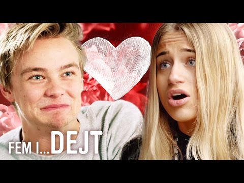 Fem i… Dejt - Hampus Hedström & Amanda Axelsson