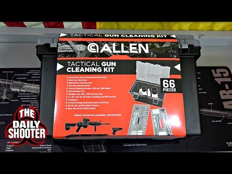 Allen Ultimate Tactical Gun Cleaning Kit