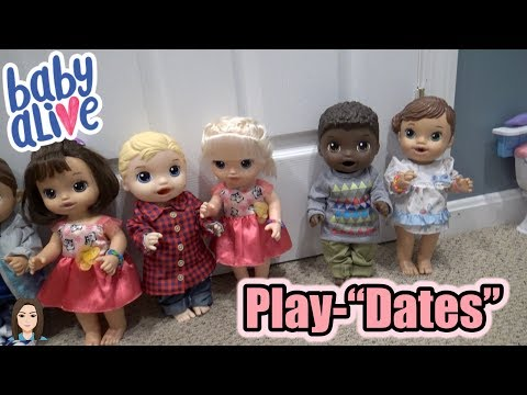 Baby Alive Boys Get Girlfriends: Play-'Dates'